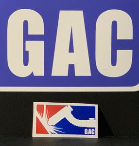 GAC Carbon Fiber Small Sticker