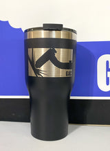 Load image into Gallery viewer, GAC 30 oz Black Tumbler