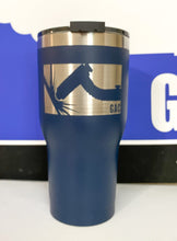 Load image into Gallery viewer, GAC 30 oz Navy Tumbler