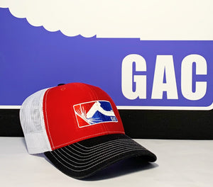 GAC Black, Red & White Snapback