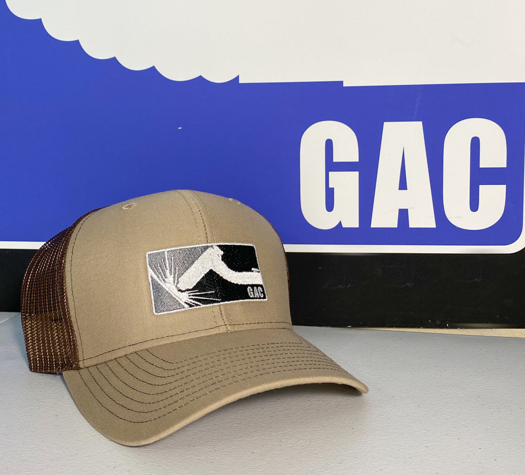 GAC Tan & Brown Snapback