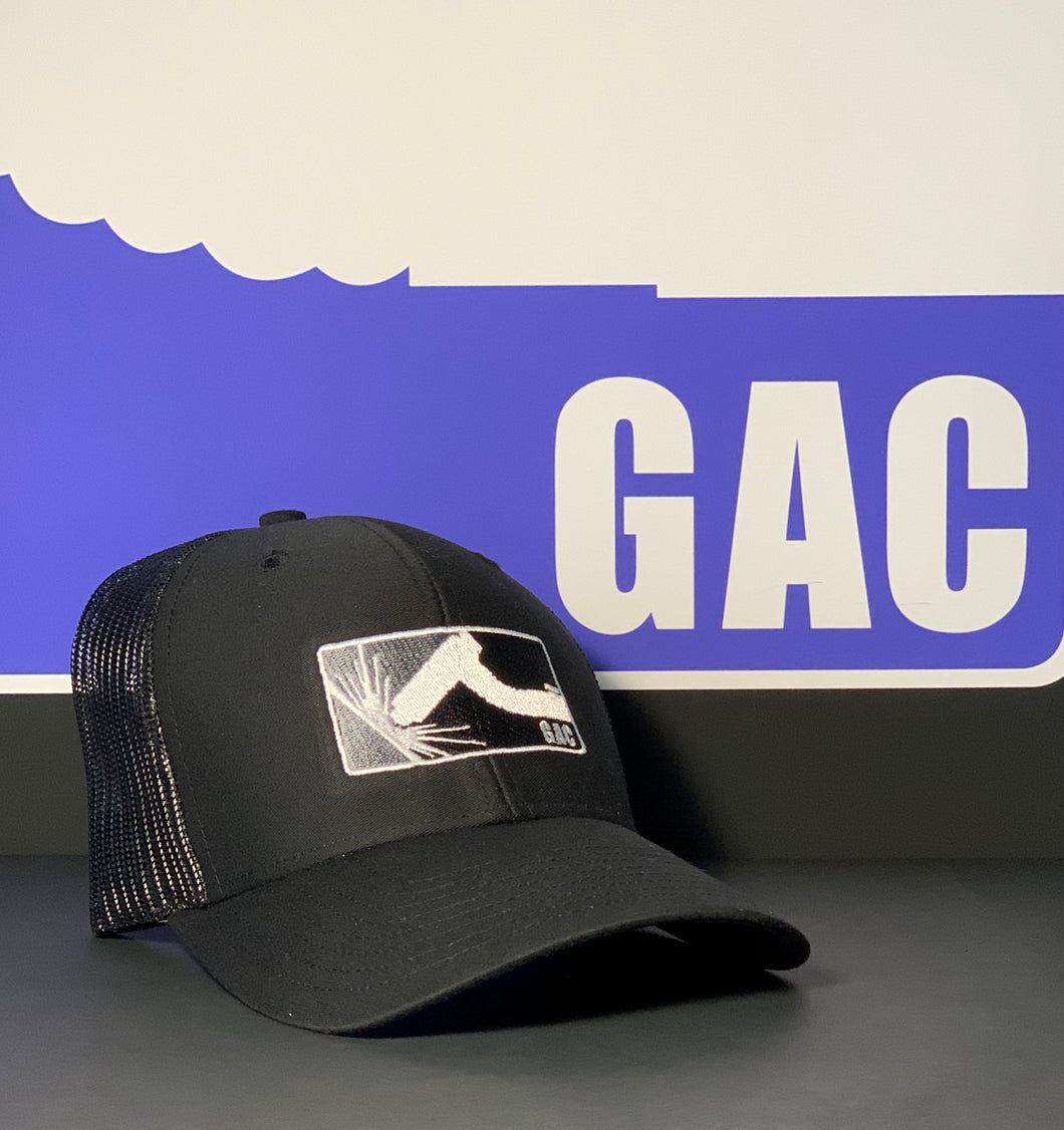 GAC Limited Edition Snapback all black