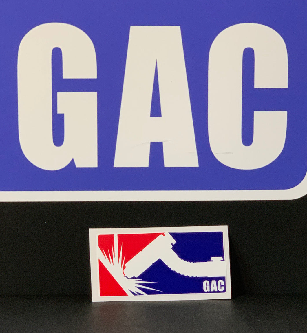 GAC Small Sticker