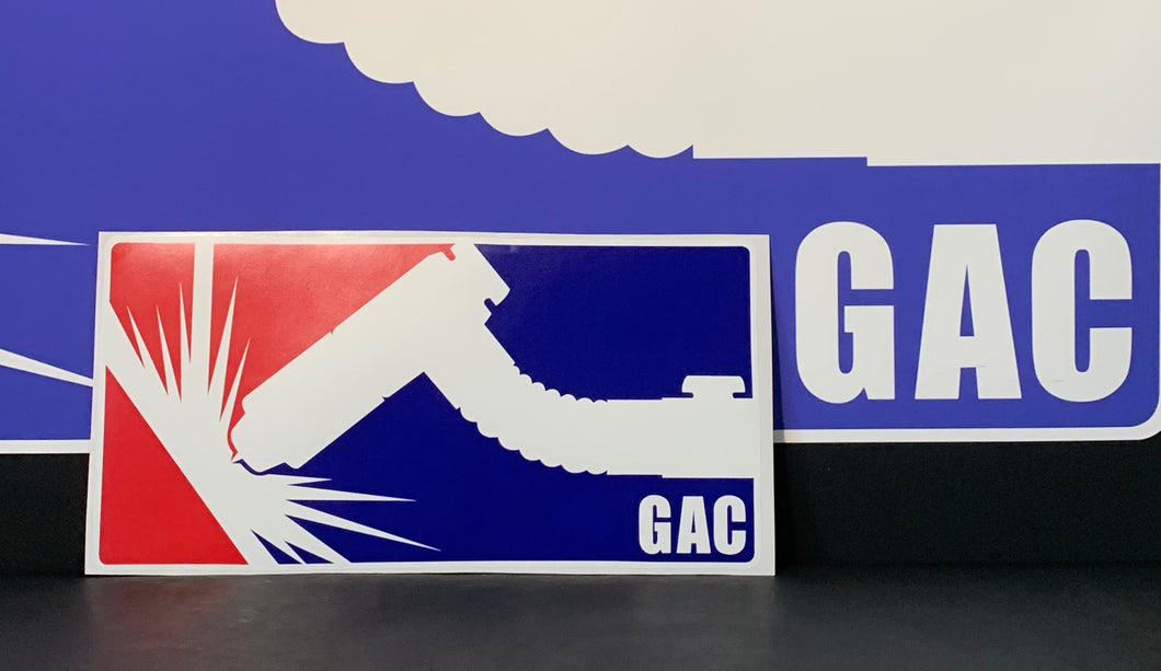 GAC Large Sticker