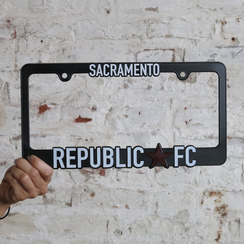 Republic FC License Plate Frame