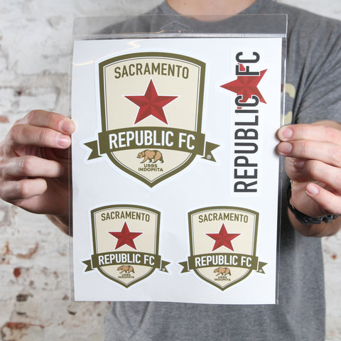 Sacramento Republic FC Sticker Pack