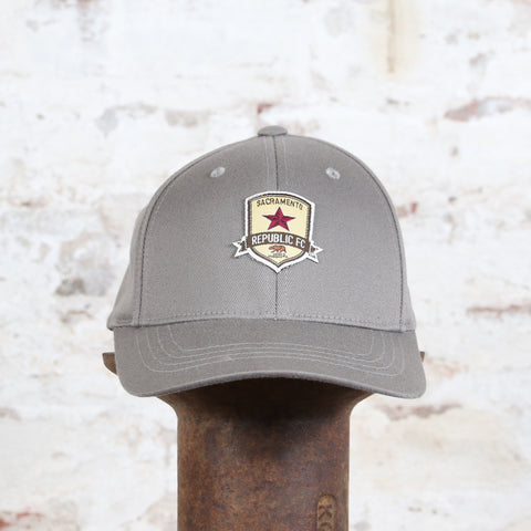 FlexFit Youth Hat in Gray