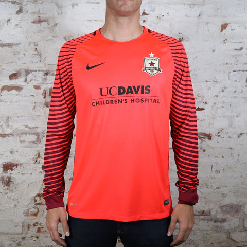 2016 Official Goalkeeper Jersey in Bright Crimson