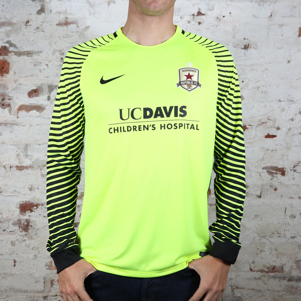 2016 Official Goalkeeper Jersey in Volt