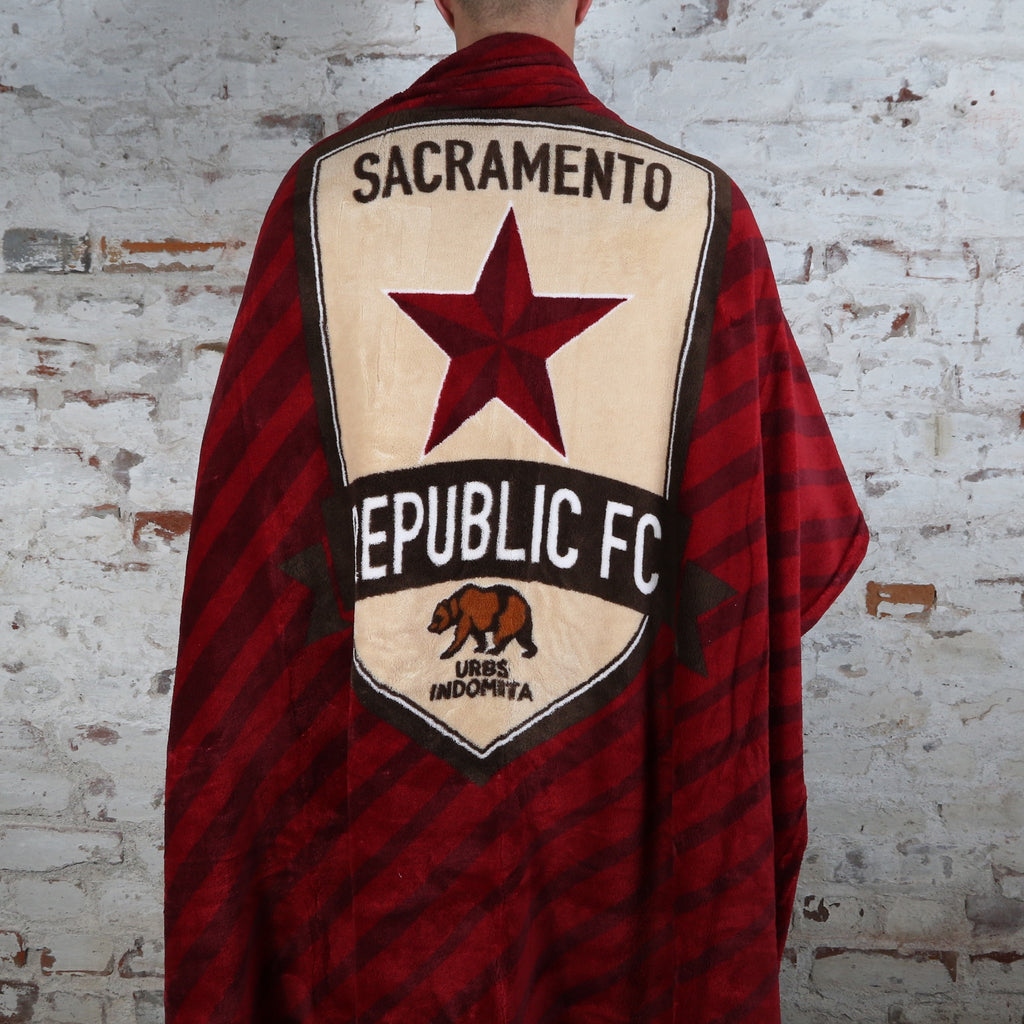 Republic FC Fleece Throw