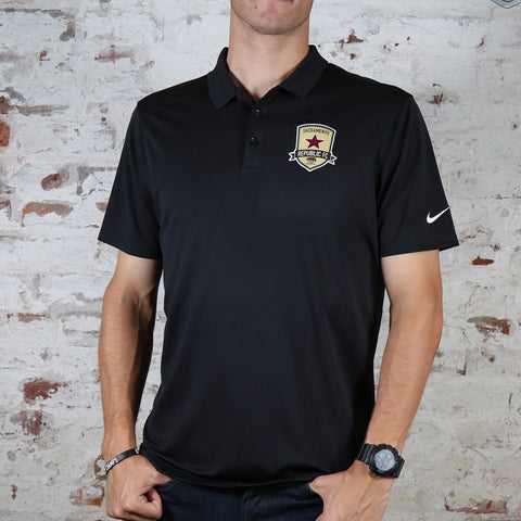 Men's Nike Victory Polo in Black