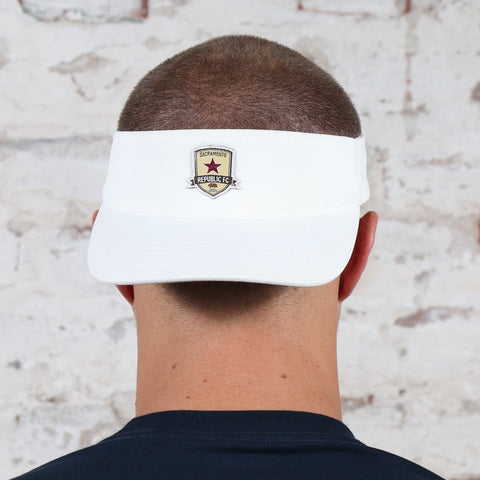 Subtle Crest Visor in White
