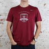 Men's Nike Legend Poly SS Tee in Cardinal
