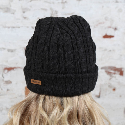 Cable Knit Beanie by Official Brand