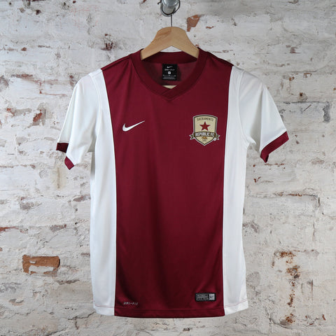 Youth Pre-Match Jersey in Team Maroon
