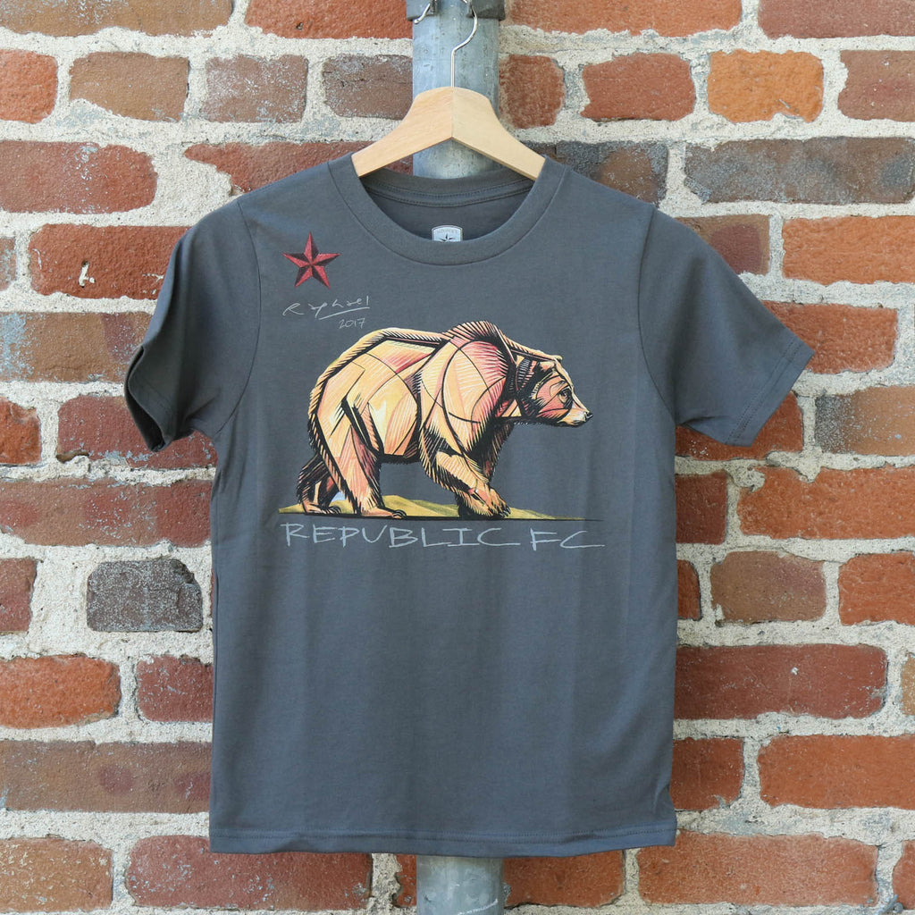 Youth California Bear Tee