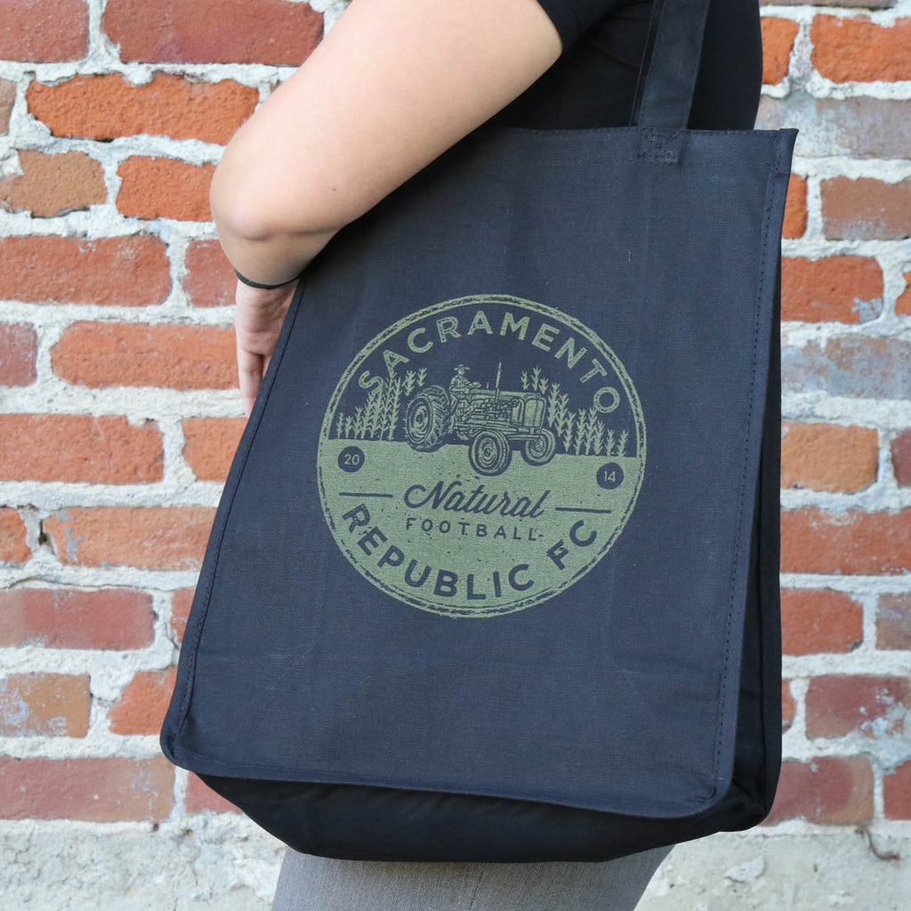 Natural Football Farm-to-Fork Tote