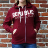 Adult Fleece Republic FC Hoodie with Applique