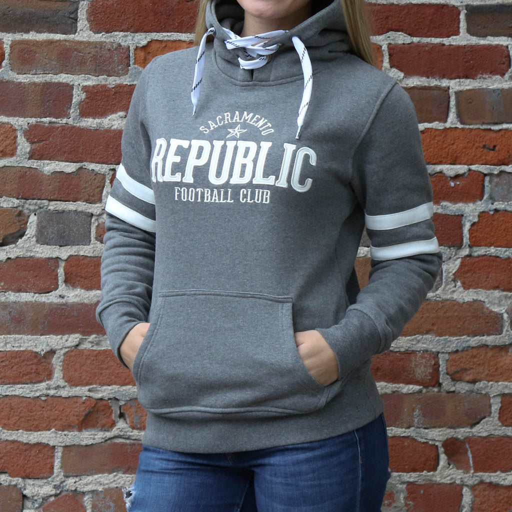 Women's Retro Pullover Hoodie by SDS