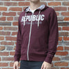 Adult French Terry Republic FC Hoodie with Applique