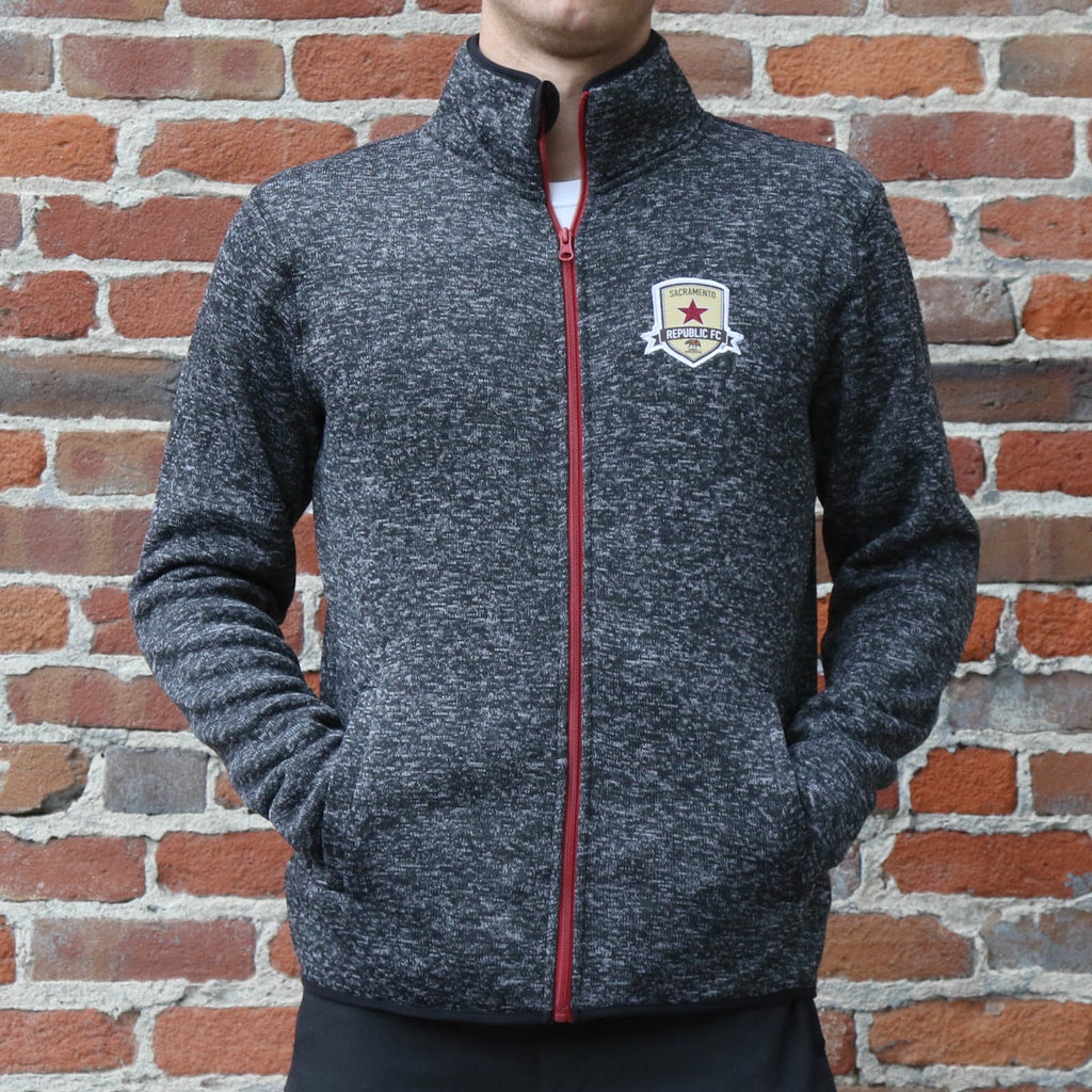 Adult Knitted Fleece Jacket by SDS
