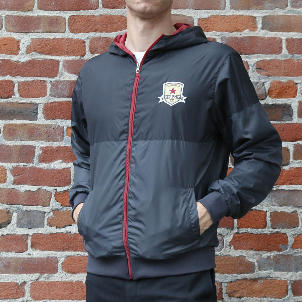 Adult Charcoal Windbreaker by SDS