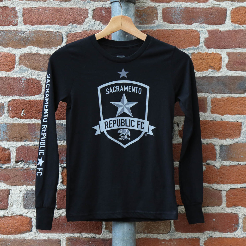Youth Classic Black Champions LS Tee