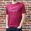 Men's Nike DRI-FIT Legend SS Tee in Team Maroon