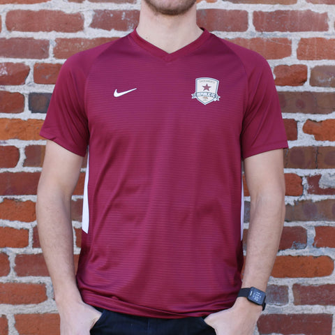 Men's 2018 Training Jersey in Team Maroon