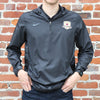 Men's 1/4 Zip Team Woven Jacket