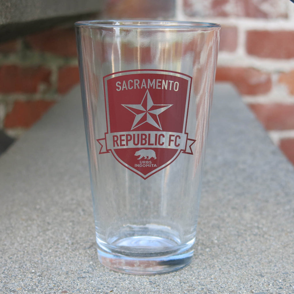 SRFC Pint Glass