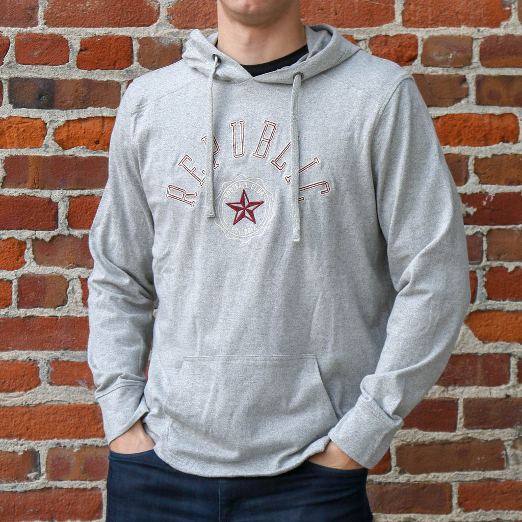Men's Twisted Yarn Hoodie