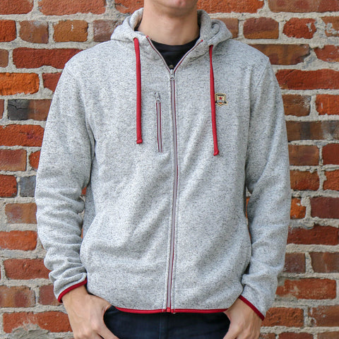 Adult Knitted Fleece Hooded Jacket by SDS