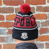 Tazzle Beanie in Black by SDS