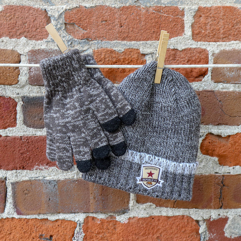 Youth Lil Cyber Beanie and Gloves