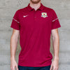 Men's Nike Dry Polo in Team Maroon