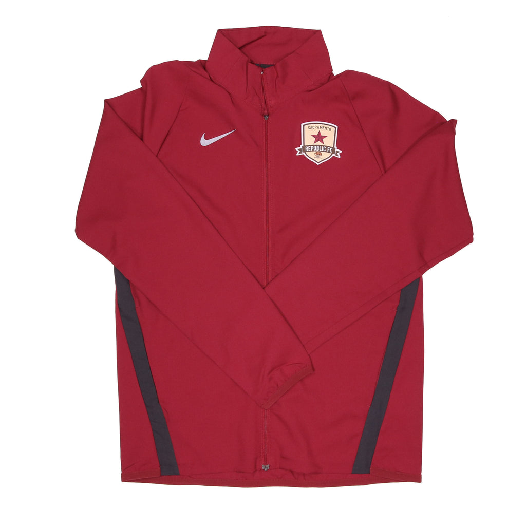 2020 Men's Team Woven Jacket in Maroon by Nike