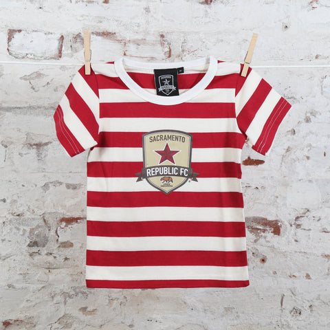 Toddler Striped Tee by SDS
