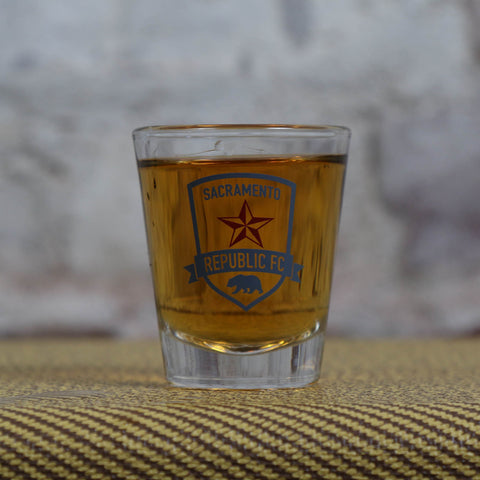 Republic FC Shot Glass