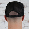 Black on Black Snap Back Trucker's Cap