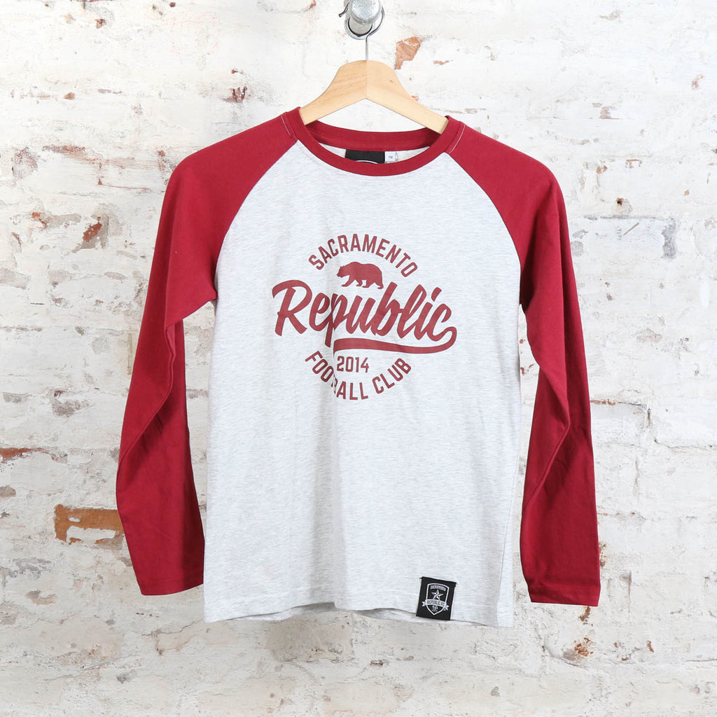 Youth Raglan Long Sleeve Tee by SDS