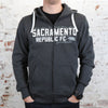 Adult Glory, Glory Sacramento Zip Hoodie by SDS