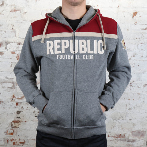 Adult Block York Zip Hoodie by SDS