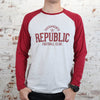 Men's Raglan Long Sleeve Tee by SDS
