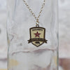 SRFC Antique Gold Charm Necklace