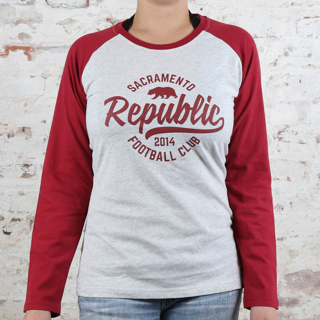 Women's Raglan Long Sleeve Tee by SDS