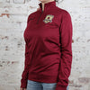 Women's Nike 1/2 Zip Top in Cardinal