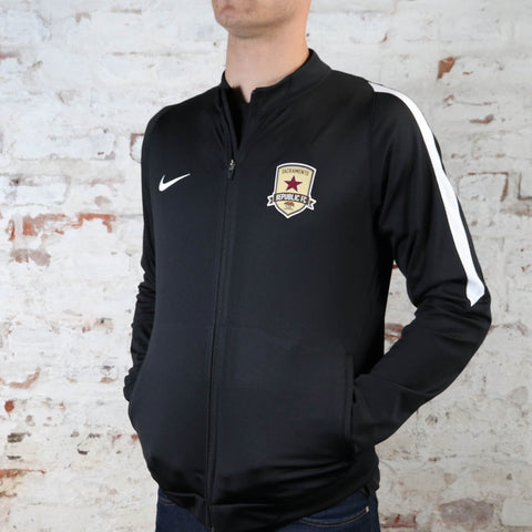 Adult Nike Squad 16 Knit Track Jacket in Black