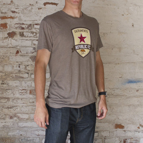 Men's Venetian Gray Official Crest Tee