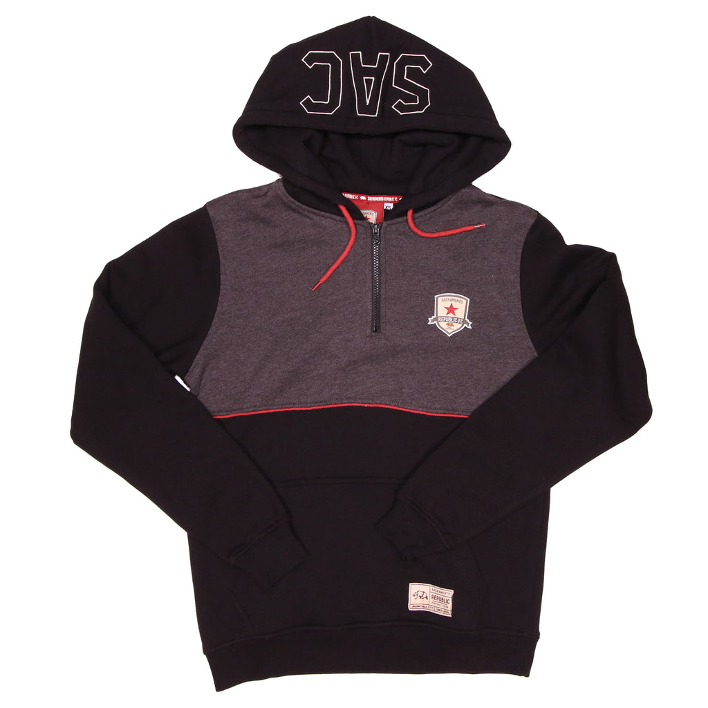 Adult 1/4 Zip SAC Hoodie by SDS